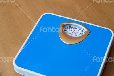 Scales for determining the weight of the body.