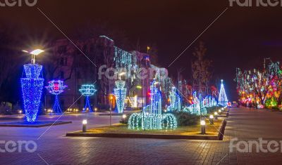 Outdoor Christmas illuminations
