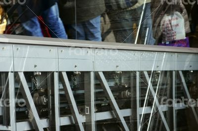 Escalator detail