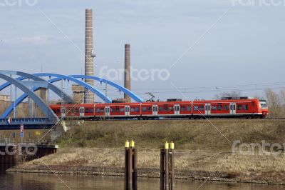 Railway bridge Wittenberge