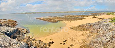 ireland  landscape panorama