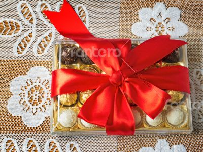 Gift for the holiday of New year, Christmas, Easter, birthday, a