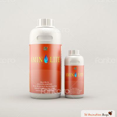 3d product bottal