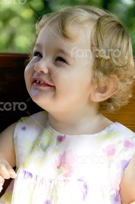 Cute infant