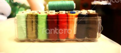 Threads Ready For Sewing in the open box