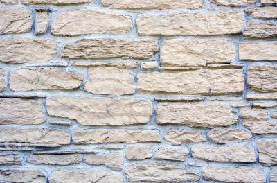 Old Brown Bricks Wall Pattern.