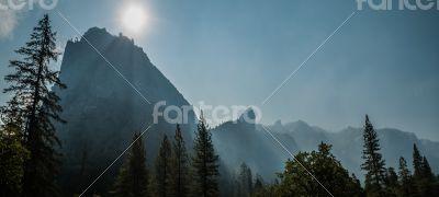 el capitan panorama Yosemite
