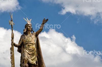Statue in Cusco