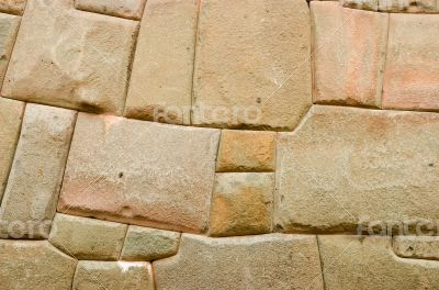 Wall from the Inca era