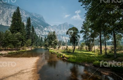 Yosemite nice river