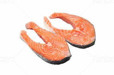 salmon raw