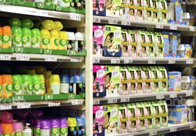 freshener shelf