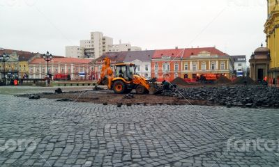 unirii square restoration