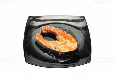 salmon fried