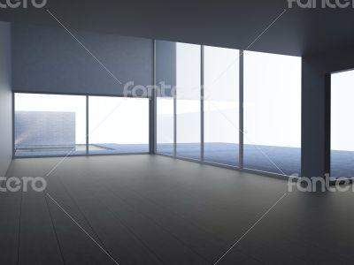 Interior of modern architecture