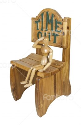 Sitting in Time Out