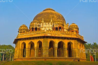 Delhi. Mausoleum of Muhammad Shah Sayid
