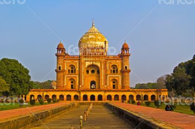 Delhi. Mausoleum Safdarjung