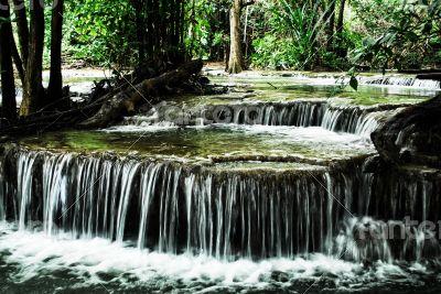 Huay Mae Kamin Waterfalls