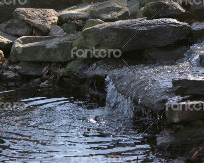 Mini Rock Waterfall