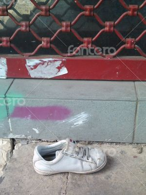 A kid shoe