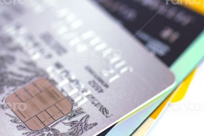 Closeup Credit card