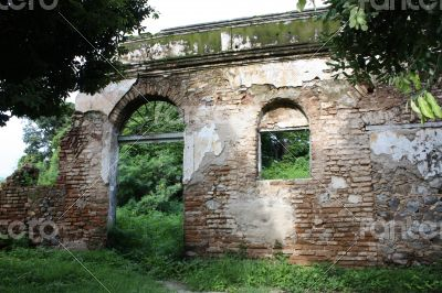 Ruins at Fernando de Noronha, Brazil