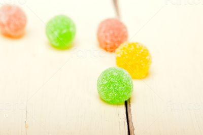 sugar jelly fruit candy