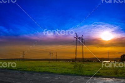 ELECTRICITY PYLONSа