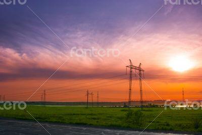 ELECTRICITY PYLONSb