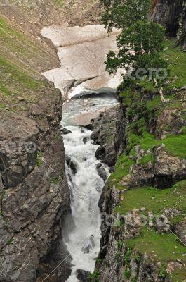 small river glacier