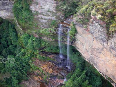 dual waterfall