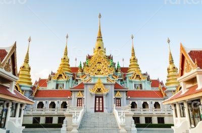 Beautiful golden pagoda
