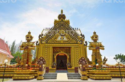 Chapel of Thai temple in Hua Hin