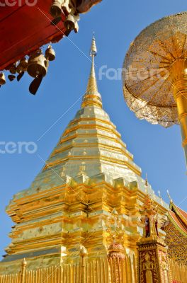 Wat Phra That Doi Suthep tourism attractions of Thailand