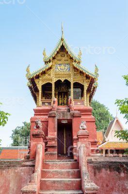 Archives Tripitaka at Wat Phra That Hariphunchai temple