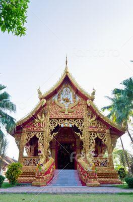 Chapel of Wat Phra That Lampang Luang temple