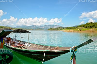 Longtail boat for travel