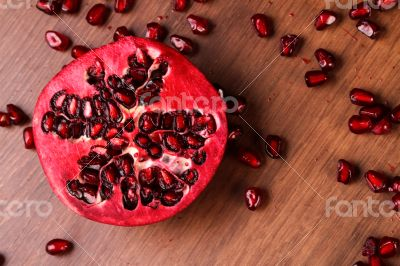 Half Pomegranate
