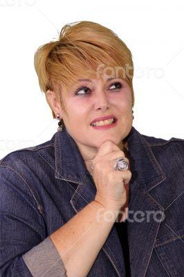 Mature Woman Body Language - Unsure