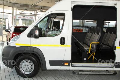 White Citroën Relay Commercial Transport  Van