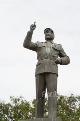 The first Statue of Samora Moisés Machel