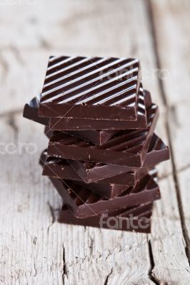 chocolate sweets stack