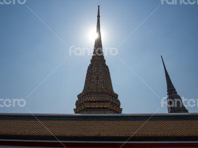 ิีBuddhist pagoda in wat(temple) poa
