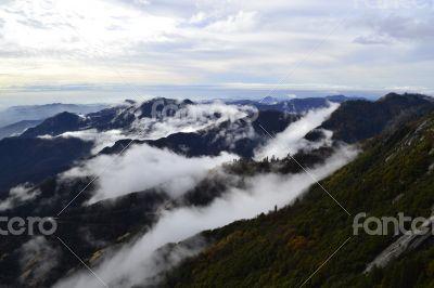 Overlooking Sierra Nevada