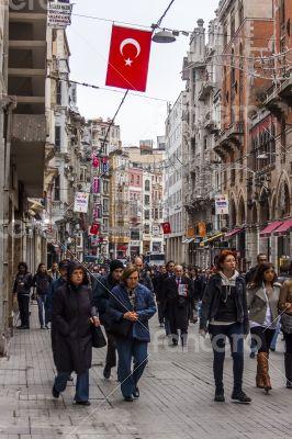 Istanbul, Turkey. Typical urban view