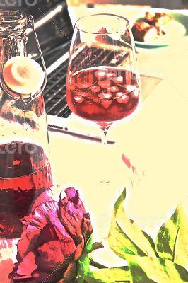 ice tea study relax