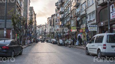 Istanbul, Turkey. April 29, 2011. A city landscape