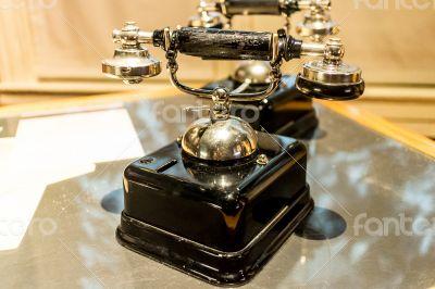 antique analog telephone