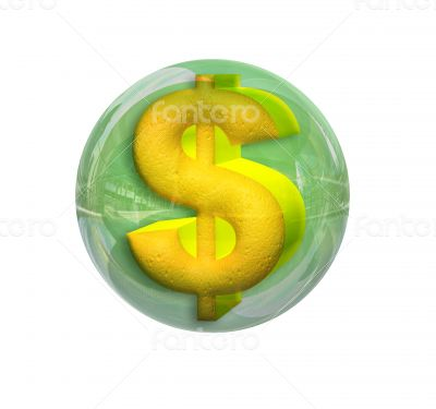 Dollar in a sphere